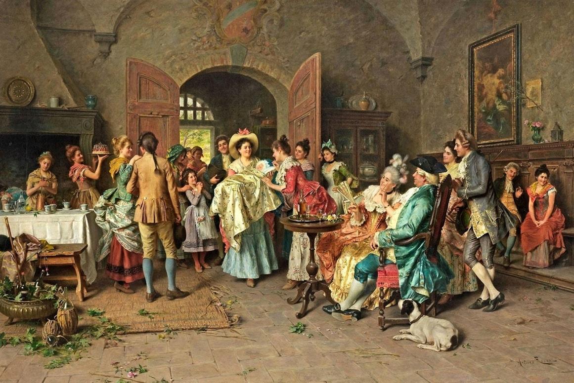 художник Артуро Риччи (Arturo Ricci) картины – 04