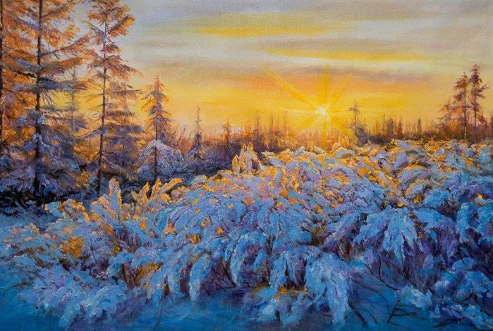 художник Савелий Камский картины – 11