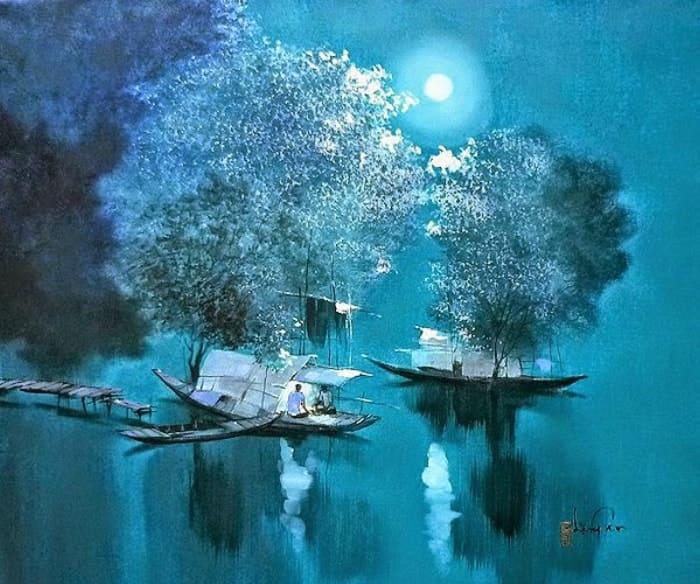 художник Dang Van Can картины – 03