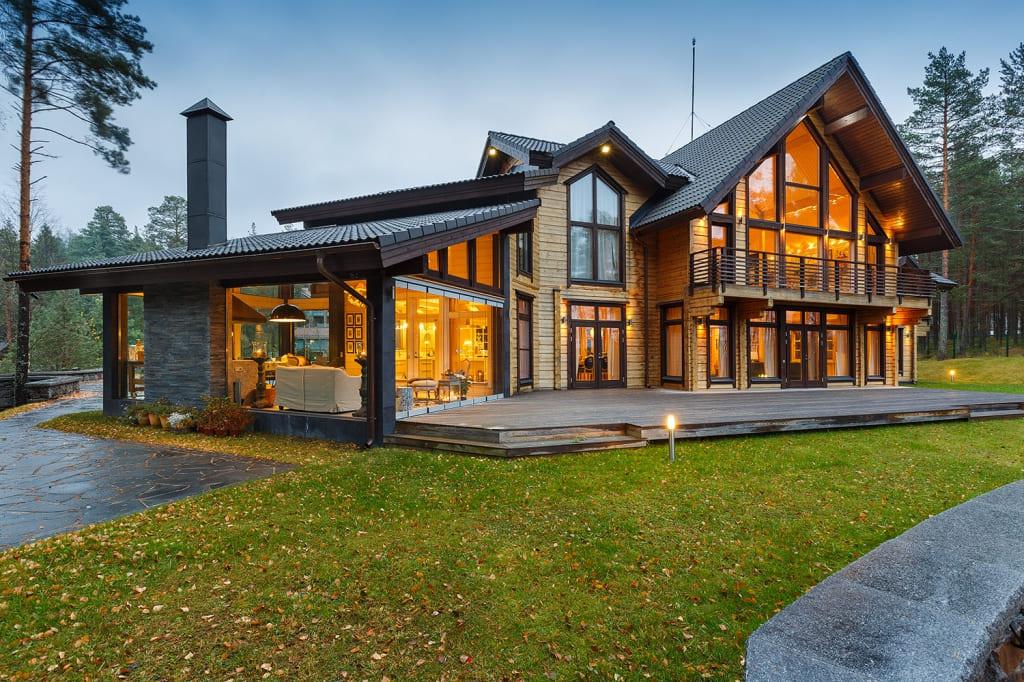 красивые дома фото - 28