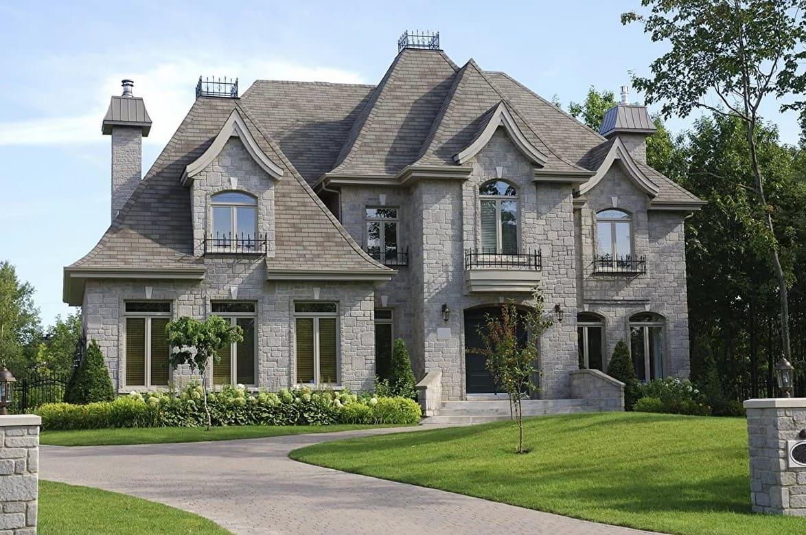 картинки красивого дома со всех сторон что