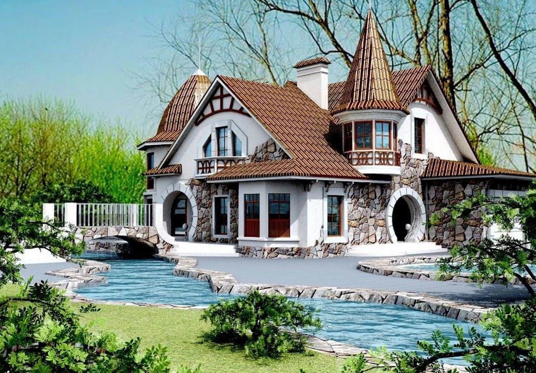 Красивые картинки с домом мечты