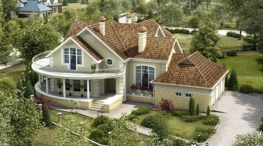 красивые дома фото - 50