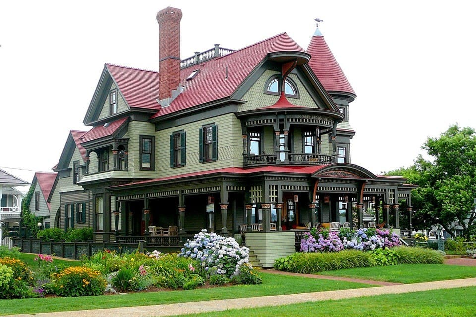 красивые дома фото - 56