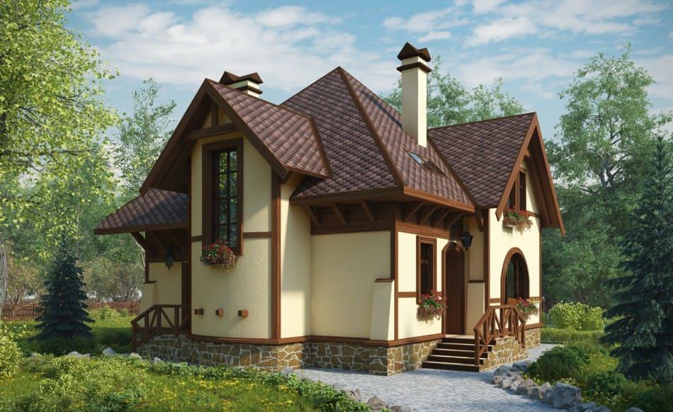 красивые дома фото - 72