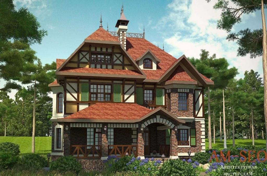 красивые дома фото - 76