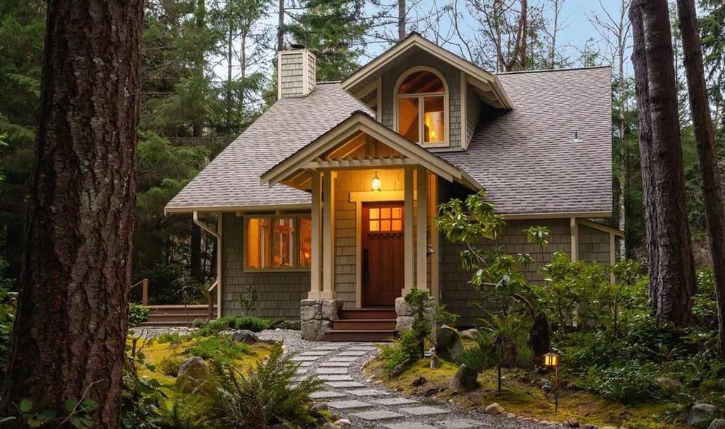 фотографии красивых дачных домов красиво