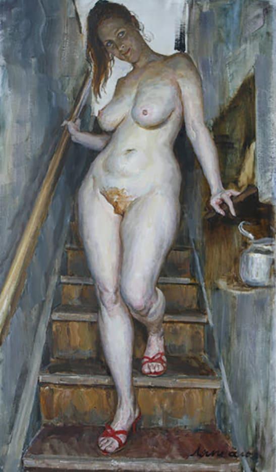 картины пышных женщин в бане умеют