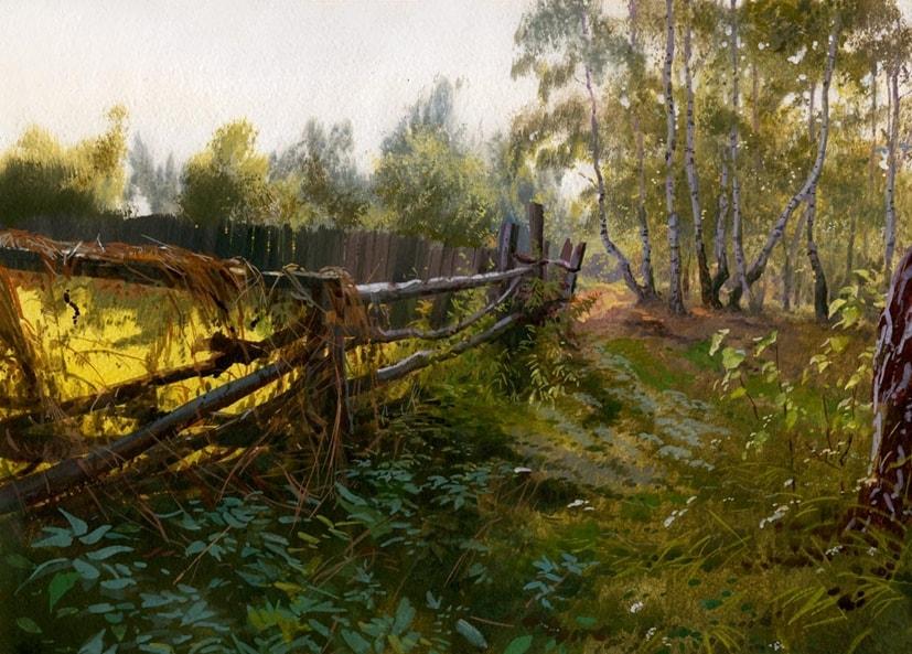 Творчество современного художника Григория Лозинского