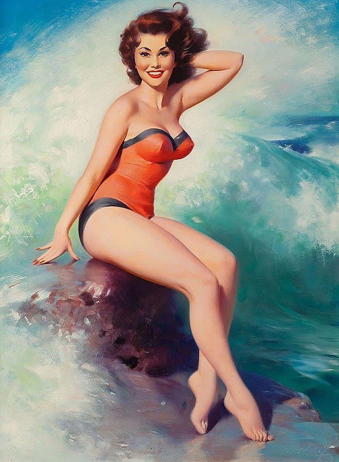 Kim medcalf bikini