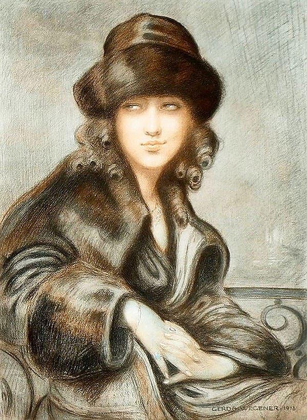 художник Герда Вегенер (Gerda Wegener) картины – 44