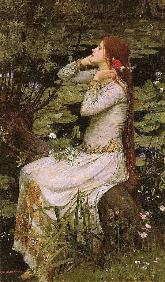 художник Джон Уильям Уотерхаус (John William Waterhouse) картины – 10