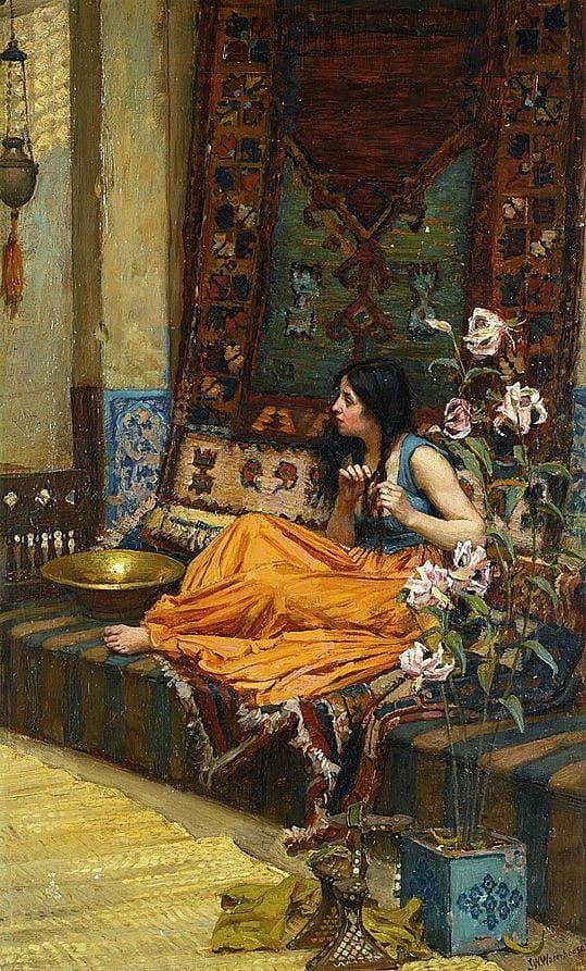 художник Джон Уильям Уотерхаус (John William Waterhouse) картины – 33