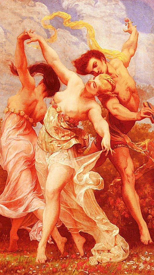 художник Гюстав Буланже (Gustave Boulanger) картины – 07