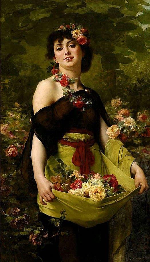 художник Гюстав Буланже (Gustave Boulanger) картины – 15